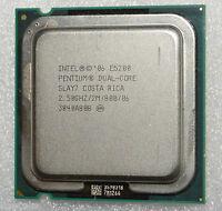 Intel Pentium Dual Core E5200 2.5 GHz Processor 2M 800 WARRANTY CPU only