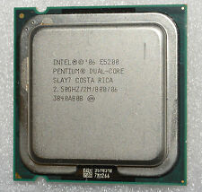 Intel Pentium Dual Core E5200 2.5 GHz Processor 2M 800 WARRANTY CPU only