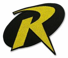 """""""ROBIN"""" Modern Comic Costume FULL SIZE PROP - Iron-On Embroidered Patch - BATMAN"""
