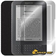 ArmorSuit MilitaryShield Screen Protector + Carbon Skin - Amazon Kindle Keyboard