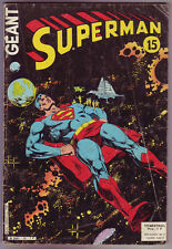 ! SUPERMAN GEANT N°15 en BON ETAT