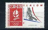 FRANCE 1991 timbre 2676, Sport, ski slalom, jeux neuf**