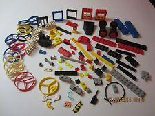 Vintage Lego Spare Parts & Pieces Lot of 120+ 1970's & 80's Space, Castle, Techn