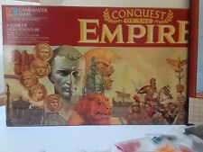 1984 Conquest of the Empire, Milton Bradley Game master 100%Complete VG+/NM war