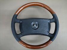 Wood Steering Wheel for Mercedes Benz W123 W116 W126 W201 ZEBRANO