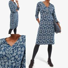 NEW RRP £55 Ex White Stuff Morie Jersey Dress, Blue