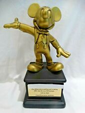 """RARE! DISNEY DRC """"FOR EFFORTS ABOVE & BEYOND TAKING INTO THE MILLENNIUM"""" AWARD"""