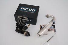 Picco PIC9525 V1 .21 star offroad + frizione + marmitta modellismo