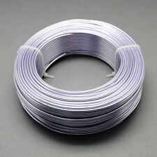 2mm Aluminium Craft Florist Wire Jewellery Making Lavender 3m lengths