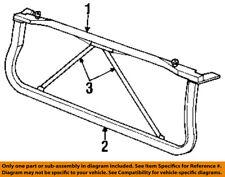 Dodge CHRYSLER OEM Ram 3500 Radiator Core Support-Lower Tie Bar Bracket 55275413