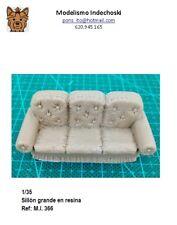 WWII sillon grande resina 1/35 accesorios diorama base furniture big chair