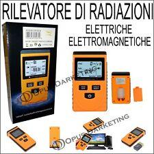 MISURATORE RADIAZIONI ONDE ELETTROMAGNETICHE DIGITALE CAMPI ELETTRICI  MAGNETICI