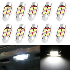 10X 31mm 4014 12SMD C5W LED Canbus Festoon Dome Lamp Car License Plate Light