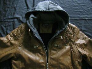 Herren-Leder-Jacke braun Größe XL  J.Style