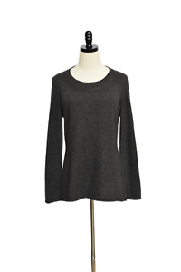 Lafayette 148 100% Cashmere Sweater Gray Size L