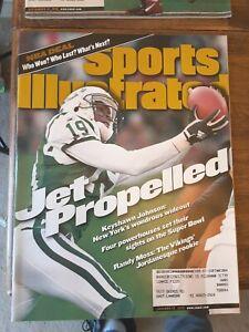 SPORTS ILLUSTRATED Magazine KEYSHAWN JOHNSON Cover June 1999 New York Jets NFL