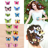 5pcs Butterfly Hair Clips Bridal Hair Accessories Wedding Photography Cos_CH