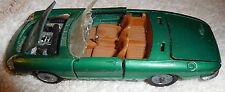 Vintage rare green Mebetoys Alfa Romeo Duetto Spyder A18 1:43 toy car,Italy,auto