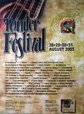 TONDER FESTIVAL - 2003 - Konzertplakat - Riverdance - Altan - Dänemark