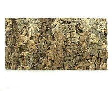 Natural Cork Tile Panel Background Wall 3D ReptileTerrarium Vivarium 60x30 cm