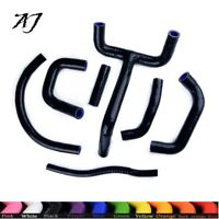 For KTM LC4 620 625 640 660 Black Coolant Pipe Silicone Radiator Y Hose
