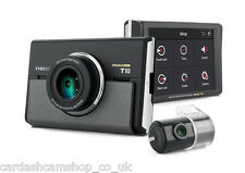 IROAD T10  FULL HD 2-CH TOUCH LCD DASHCAM + WIFI + UNINTERRUPTIBLE CABLE+16GB