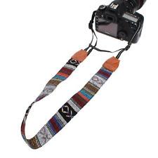 Vintage Soft Multi-Color Universal Camcorder Camera Shoulder Strap Neck Belt for