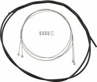 Standard - Shimano Road/MTB Brake Cable and Housing Set, Black - Brake Cable &