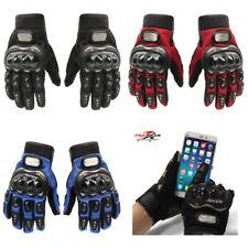 Guanti PRO-BIKER motociclista prese aria moto motocross touch per smartphone