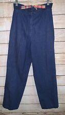 Vintage Denim Blue Jeans High Waisted Size 10
