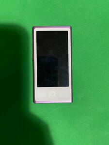 Apple iPod Nano 7th Generation Purple (16GB) - Great Condition -  Fast Del!