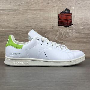 adidas Kermit the Frog K Stan Smith UK 9.5 Disney Off White Pantone Green