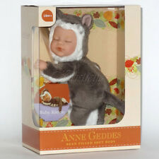 ANNE GEDDES DOLLS BEAN FILLED collection NEW in a Box BABY KITTEN Doll 9''579122