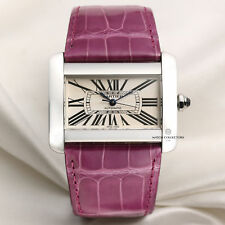 Cartier Tank Divan Stainless Steel 2612