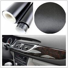 3D black Leather Texture Sheet Car Auto Interior Trim Vinyl Film Wrap Sticker