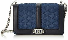 Rebecca Minkoff Denim Love Crossbody Bag Purse