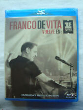 Franco De Vita Vuelve En Primera Fila De Vita Franco BLU RAY video +2 cd`s audio