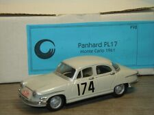 Panhard PL17 Rally Monte Carlo 1961 - CCC 1:43 in Box *39232