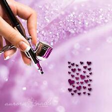 Aerografo colla Formine - MU015 - NAIL ART - 20 Stk Cuore Cuori Heart Amore