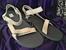 BRAND NEW TEVA SEAVEES WHITE LEATHER SPORTS SANDALS S/N 1004239 MEN'S SIZE 14