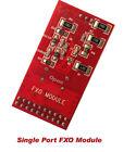 FXO Module X100M FXO Daughter Card FXO100 Board For tdm400p tdm410 asterisk card