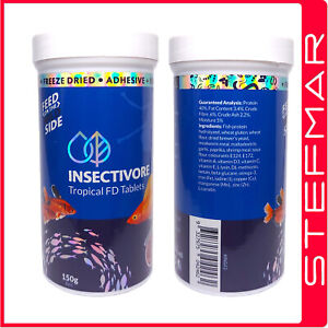 Insectivore Tropical Tablets 150g