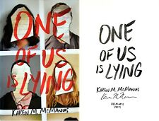 Karen M. McManus~PERSONALLY SIGNED~One of Us is Lying~1st Edition - Debut Novel!