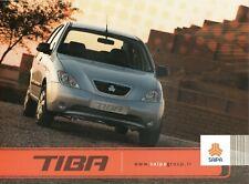 Saipa Tiba car (Iran) _2011 Prospekt / Brochure