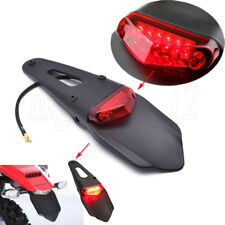 LED Fender Tail Light for Dirt Track Enduro CRF XR KLX DRZ YZ WR TTR XT EXCF XCW