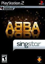 Abba Singstar Sing Star NEW factory sealed PS2 Playstation 2
