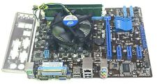 Intel Core i3-2100 @ 3.10GHz 4GB DDR3 Asus P8H61-M LH Combo Tested Working EA111