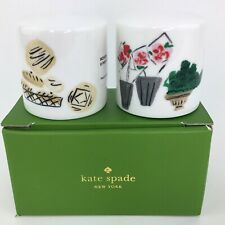 Kate Spade New York To Market Salt & Pepper Shakers Set By Lenox New In Box