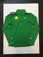 Nike Oregon Ducks Running Top Shirts Green Puddles Mens Size M NWOT