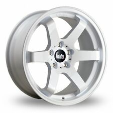 "17"" BOLA B1 ALLOY WHEELS WHITE FITS FORD FIESTA FOCUS FUSION 4X108"